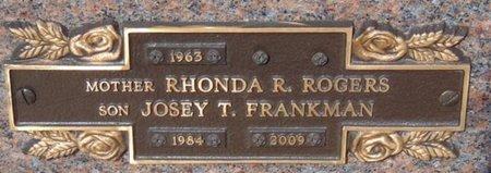 ROGERS, RHONDA R. - Minnehaha County, South Dakota | RHONDA R. ROGERS - South Dakota Gravestone Photos