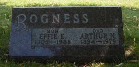 ROGNESS, EFFIE E. - Minnehaha County, South Dakota | EFFIE E. ROGNESS - South Dakota Gravestone Photos