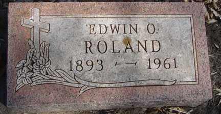 ROLAND, EDWIN O. - Minnehaha County, South Dakota | EDWIN O. ROLAND - South Dakota Gravestone Photos