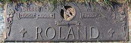 ROLAND, GILBERT R. - Minnehaha County, South Dakota | GILBERT R. ROLAND - South Dakota Gravestone Photos