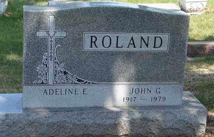 ROLAND, JOHN G. - Minnehaha County, South Dakota   JOHN G. ROLAND - South Dakota Gravestone Photos