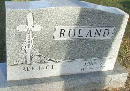 ROLAND, ADELINE E. - Minnehaha County, South Dakota | ADELINE E. ROLAND - South Dakota Gravestone Photos