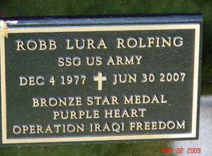 ROLFING, ROBB LURA - Minnehaha County, South Dakota | ROBB LURA ROLFING - South Dakota Gravestone Photos