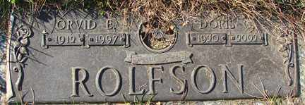 ROLFSON, DORIS GRACE - Minnehaha County, South Dakota | DORIS GRACE ROLFSON - South Dakota Gravestone Photos