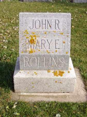 ROLLINS, MARY E. - Minnehaha County, South Dakota | MARY E. ROLLINS - South Dakota Gravestone Photos