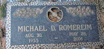 ROMEREIM, MICHAEL D. - Minnehaha County, South Dakota | MICHAEL D. ROMEREIM - South Dakota Gravestone Photos