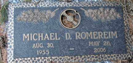 ROMEREIM, MICHAEL D. - Minnehaha County, South Dakota | MICHAEL D. ROMEREIM - South Dakota Gravestone Photos