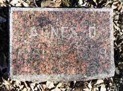 RONEY, AGNES OTHELIA - Minnehaha County, South Dakota   AGNES OTHELIA RONEY - South Dakota Gravestone Photos