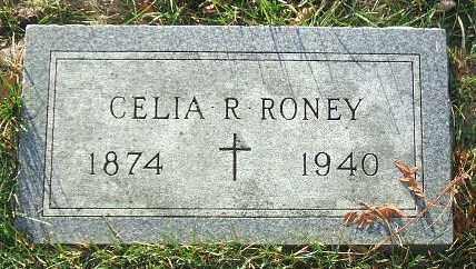 RONEY, CELIA R. - Minnehaha County, South Dakota   CELIA R. RONEY - South Dakota Gravestone Photos