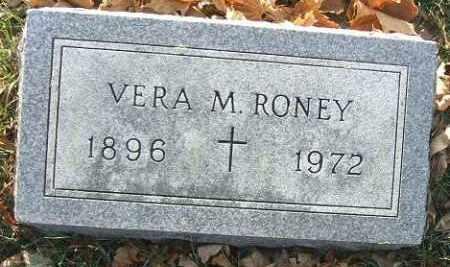 RONEY, VERA M. - Minnehaha County, South Dakota | VERA M. RONEY - South Dakota Gravestone Photos