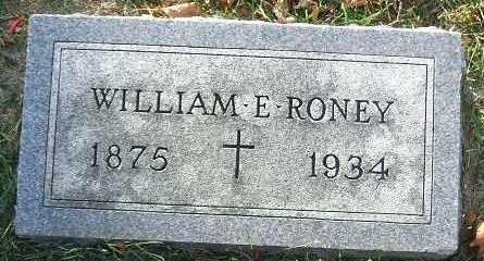 RONEY, WILLIAM E. - Minnehaha County, South Dakota | WILLIAM E. RONEY - South Dakota Gravestone Photos