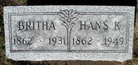 RONHOLM, BRITHA - Minnehaha County, South Dakota | BRITHA RONHOLM - South Dakota Gravestone Photos