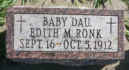 RONK, EDITH M. - Minnehaha County, South Dakota | EDITH M. RONK - South Dakota Gravestone Photos