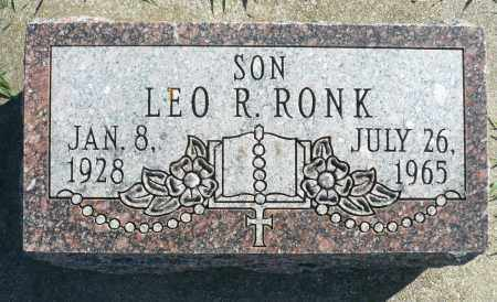 RONK, LEO R. - Minnehaha County, South Dakota | LEO R. RONK - South Dakota Gravestone Photos