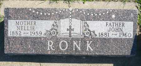 RONK, NELLIE - Minnehaha County, South Dakota | NELLIE RONK - South Dakota Gravestone Photos