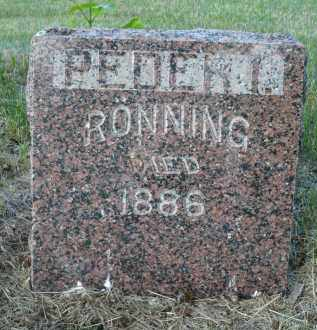 RONNING, PEDER I. - Minnehaha County, South Dakota | PEDER I. RONNING - South Dakota Gravestone Photos