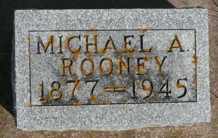 ROONEY, MICHAEL A. - Minnehaha County, South Dakota | MICHAEL A. ROONEY - South Dakota Gravestone Photos