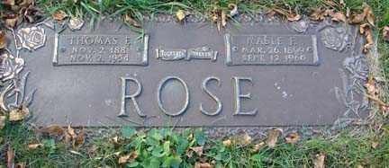 ROSE, MABEL F. - Minnehaha County, South Dakota   MABEL F. ROSE - South Dakota Gravestone Photos