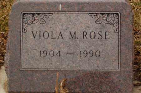 ROSE, VIOLA M. - Minnehaha County, South Dakota | VIOLA M. ROSE - South Dakota Gravestone Photos