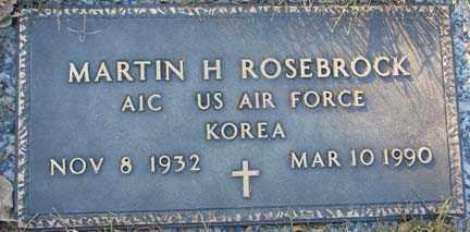 ROSEBROCK, MARTIN H. - Minnehaha County, South Dakota   MARTIN H. ROSEBROCK - South Dakota Gravestone Photos