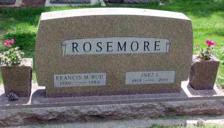 ROSEMORE, FRANCIS M. - Minnehaha County, South Dakota | FRANCIS M. ROSEMORE - South Dakota Gravestone Photos
