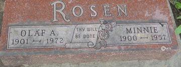 ROSEN, MINNIE - Minnehaha County, South Dakota | MINNIE ROSEN - South Dakota Gravestone Photos