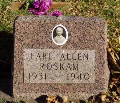 ROSKAM, EARL ALLEN - Minnehaha County, South Dakota | EARL ALLEN ROSKAM - South Dakota Gravestone Photos
