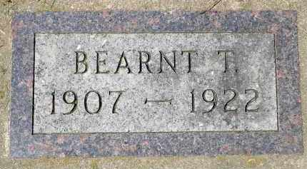 ROSS, BEARNT T. - Minnehaha County, South Dakota | BEARNT T. ROSS - South Dakota Gravestone Photos