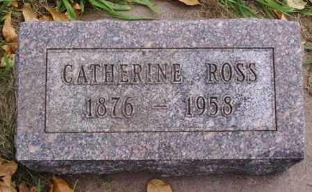 ROSS, CATHERINE - Minnehaha County, South Dakota | CATHERINE ROSS - South Dakota Gravestone Photos
