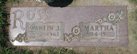ROSS, MARTHA - Minnehaha County, South Dakota | MARTHA ROSS - South Dakota Gravestone Photos