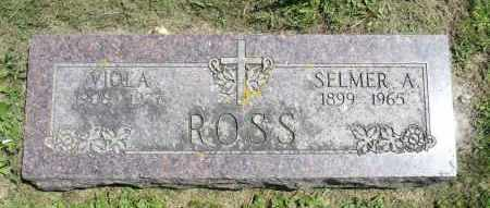 ROSS, VIOLA - Minnehaha County, South Dakota | VIOLA ROSS - South Dakota Gravestone Photos