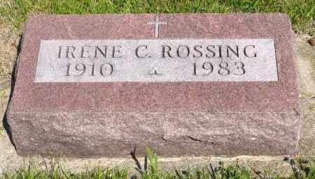ROSSING, IRENE C. - Minnehaha County, South Dakota | IRENE C. ROSSING - South Dakota Gravestone Photos