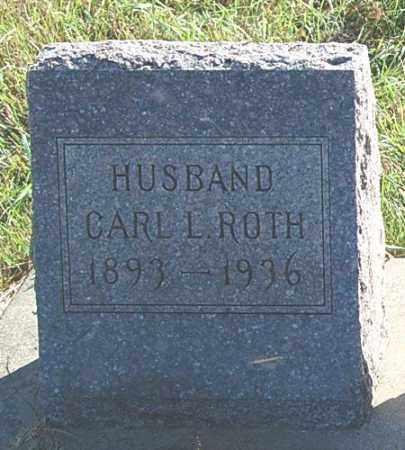 ROTH, CARL L. - Minnehaha County, South Dakota | CARL L. ROTH - South Dakota Gravestone Photos