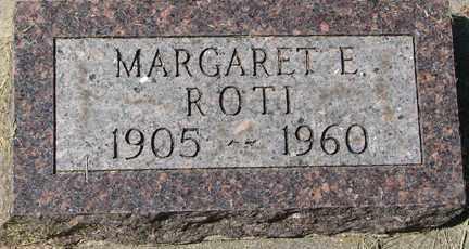 ROTI, MARGARET E. - Minnehaha County, South Dakota | MARGARET E. ROTI - South Dakota Gravestone Photos