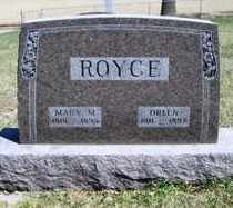 ROYCE, ORLEN - Minnehaha County, South Dakota   ORLEN ROYCE - South Dakota Gravestone Photos