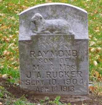 RUCKER, RAYMOND - Minnehaha County, South Dakota | RAYMOND RUCKER - South Dakota Gravestone Photos