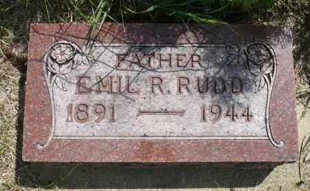 RUDD, EMIL RUDOLPH - Minnehaha County, South Dakota | EMIL RUDOLPH RUDD - South Dakota Gravestone Photos