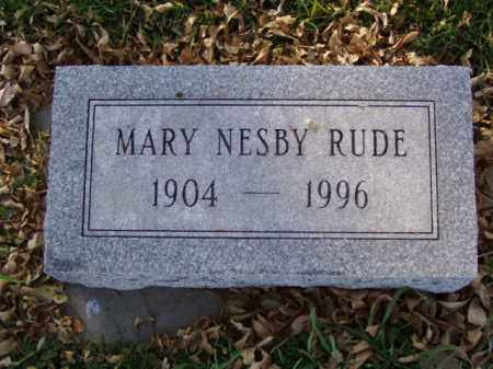 RUDE, MARY - Minnehaha County, South Dakota | MARY RUDE - South Dakota Gravestone Photos