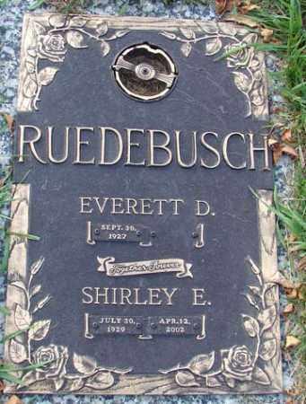 BINNEY RUEDEBUSCH, SHIRLEY E. - Minnehaha County, South Dakota | SHIRLEY E. BINNEY RUEDEBUSCH - South Dakota Gravestone Photos