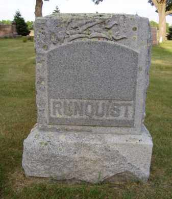 RUNQUIST, GUSTAVE - Minnehaha County, South Dakota | GUSTAVE RUNQUIST - South Dakota Gravestone Photos