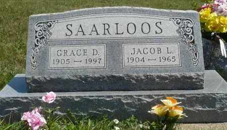 SAARLOOS, JACOB L. - Minnehaha County, South Dakota | JACOB L. SAARLOOS - South Dakota Gravestone Photos