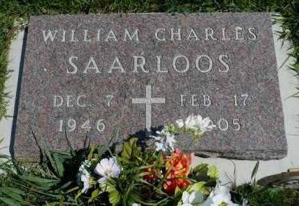 SAARLOOS, WILLIAM CHARLES - Minnehaha County, South Dakota | WILLIAM CHARLES SAARLOOS - South Dakota Gravestone Photos