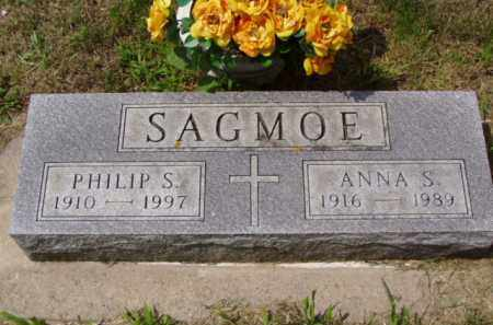 SWARD SAGMOE, ANNA S. - Minnehaha County, South Dakota | ANNA S. SWARD SAGMOE - South Dakota Gravestone Photos