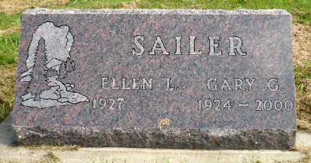 SAILER, ELLEN L. - Minnehaha County, South Dakota | ELLEN L. SAILER - South Dakota Gravestone Photos