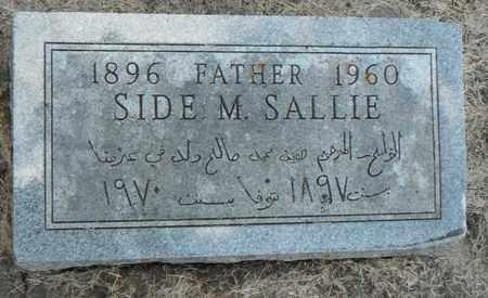 SALLIE, SIDE - Minnehaha County, South Dakota | SIDE SALLIE - South Dakota Gravestone Photos