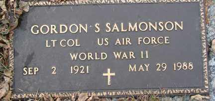 SALMONSON, GORDON S. (WWII) - Minnehaha County, South Dakota | GORDON S. (WWII) SALMONSON - South Dakota Gravestone Photos
