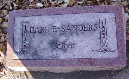 SANDERS, CARL E. - Minnehaha County, South Dakota | CARL E. SANDERS - South Dakota Gravestone Photos