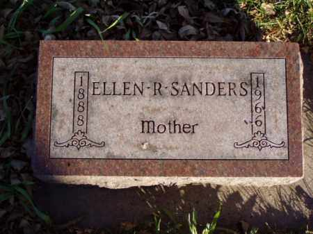 SANDERS, ELLEN R. - Minnehaha County, South Dakota | ELLEN R. SANDERS - South Dakota Gravestone Photos
