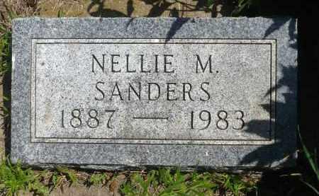 SANDERS, NELLIE M. - Minnehaha County, South Dakota | NELLIE M. SANDERS - South Dakota Gravestone Photos