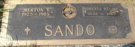 NELSON, ROBERTA B. - Minnehaha County, South Dakota   ROBERTA B. NELSON - South Dakota Gravestone Photos